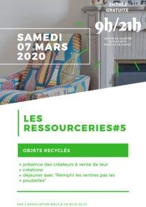Les Ressourceries : Marché des artistes de l'upcycling @ Maison de Quartier de Port Neuf